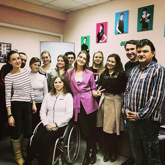 Занятие по импровизации для группы интенсивного курса Радиостарт от @anastasia_kungurtseva