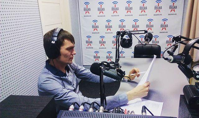 """Наш ученик Алексей Бердников поделился своими эмоциями от ведения прямых эфиров: """"...еще два часа назад у меня тряслись коленки, но ..."""