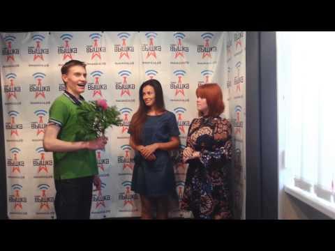 Елена Майсурадзе на Радио Вышка (за кадром)