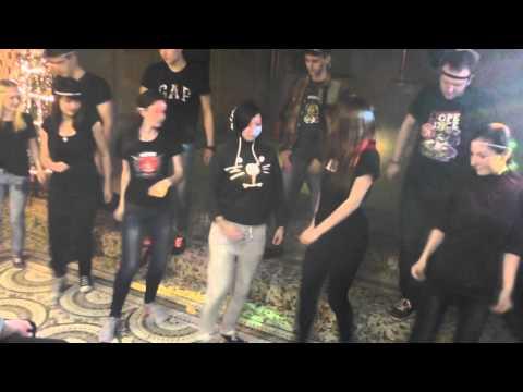 Корпоративный танец радио Вышка 2015